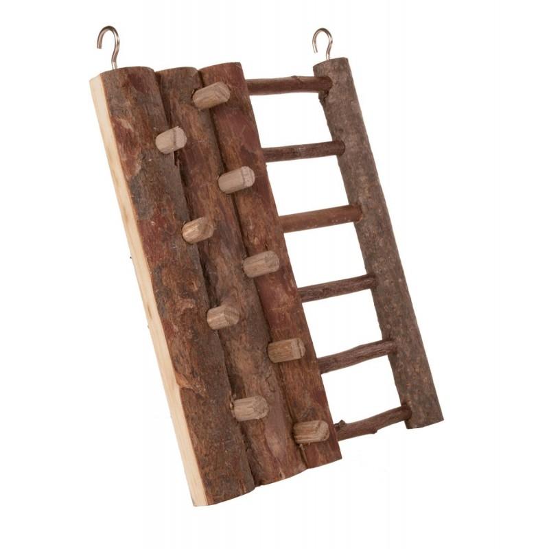 Ścianka do wspinania drewniana dla chomika i myszy NATURAL