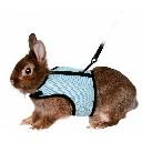 Szelki smycz dla królika z miękkim podbiciem