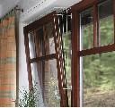 Kratka ochronna pionowa do zabezpieczenie okna dla kota