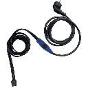 Kabel grzewczy przewód grzejny 1 m z termostatem 17W