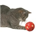 Zabawka kula na smakołyki dla kota i psa