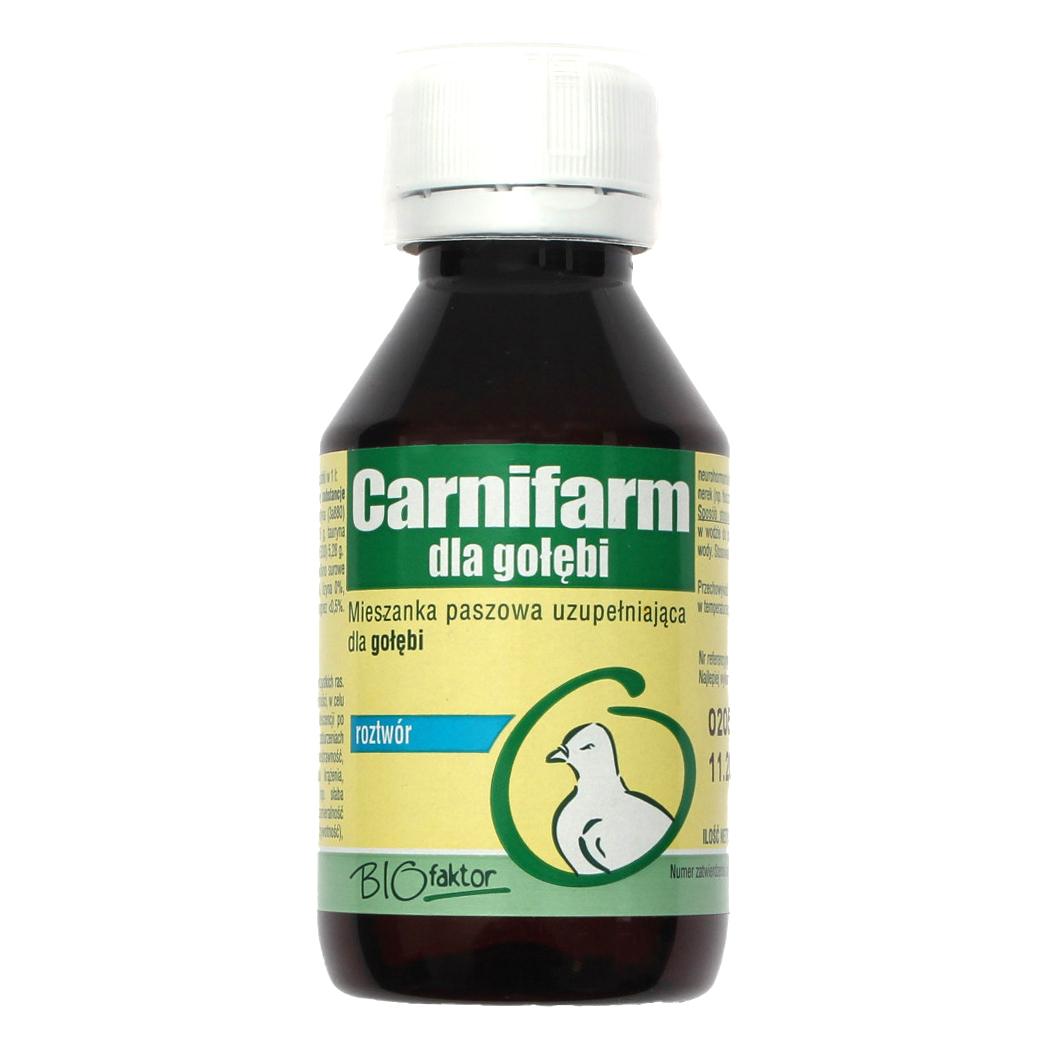 CARNIFARM 100 ml witaminy dla gołębi na lepsze przyrosty masy i poprawę kondycji