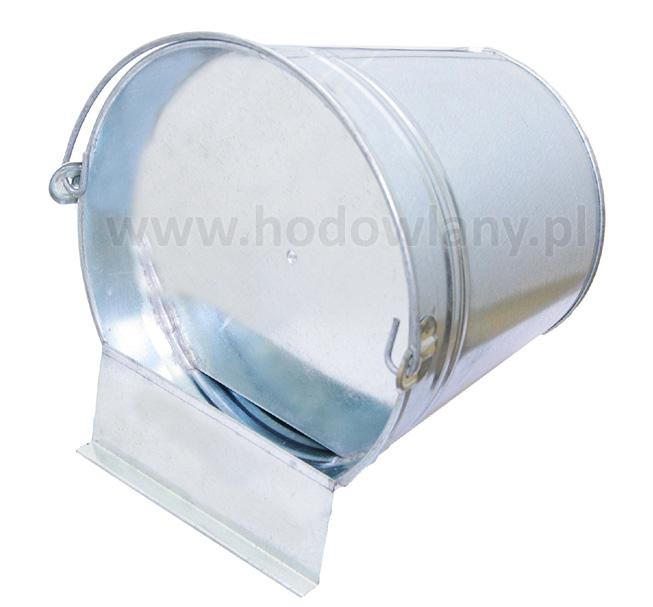 Poidło wiaderkowe - kładzione - 8 litrów dla drobiu - zdjecie 1