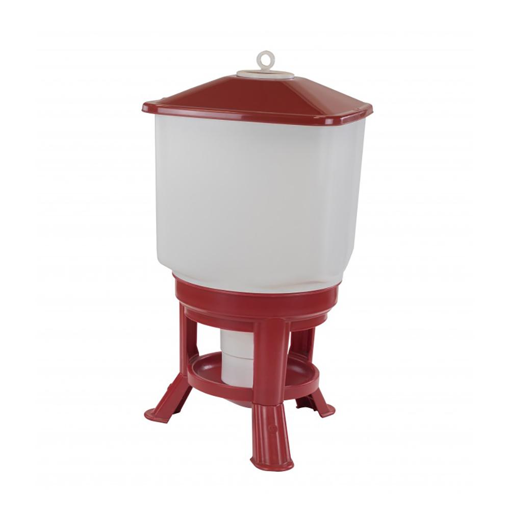 Poidło zbiornikowe 50 litrów TYTAN na stojaku dla drobiu  - zdjecie 1