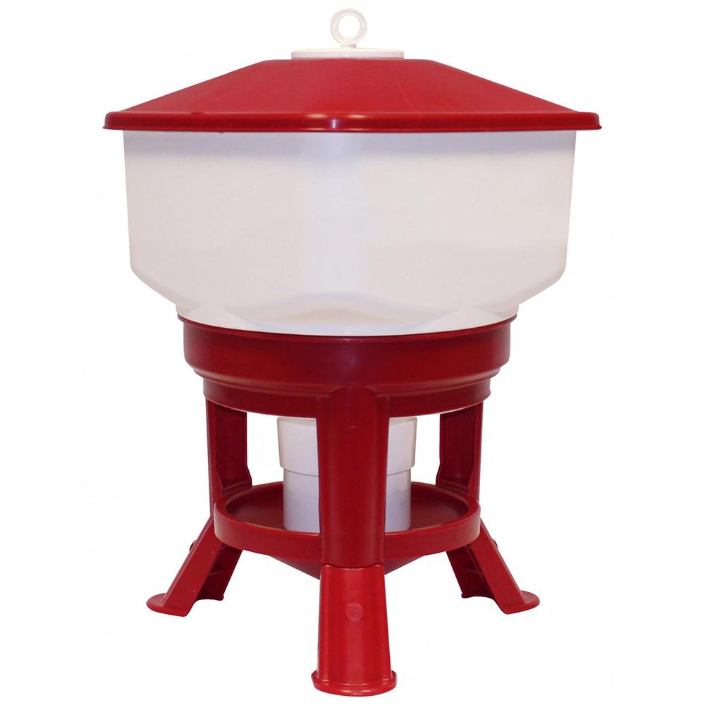Poidło zbiornikowe 30 litrów TYTAN na stojaku dla drobiu  - zdjecie 1