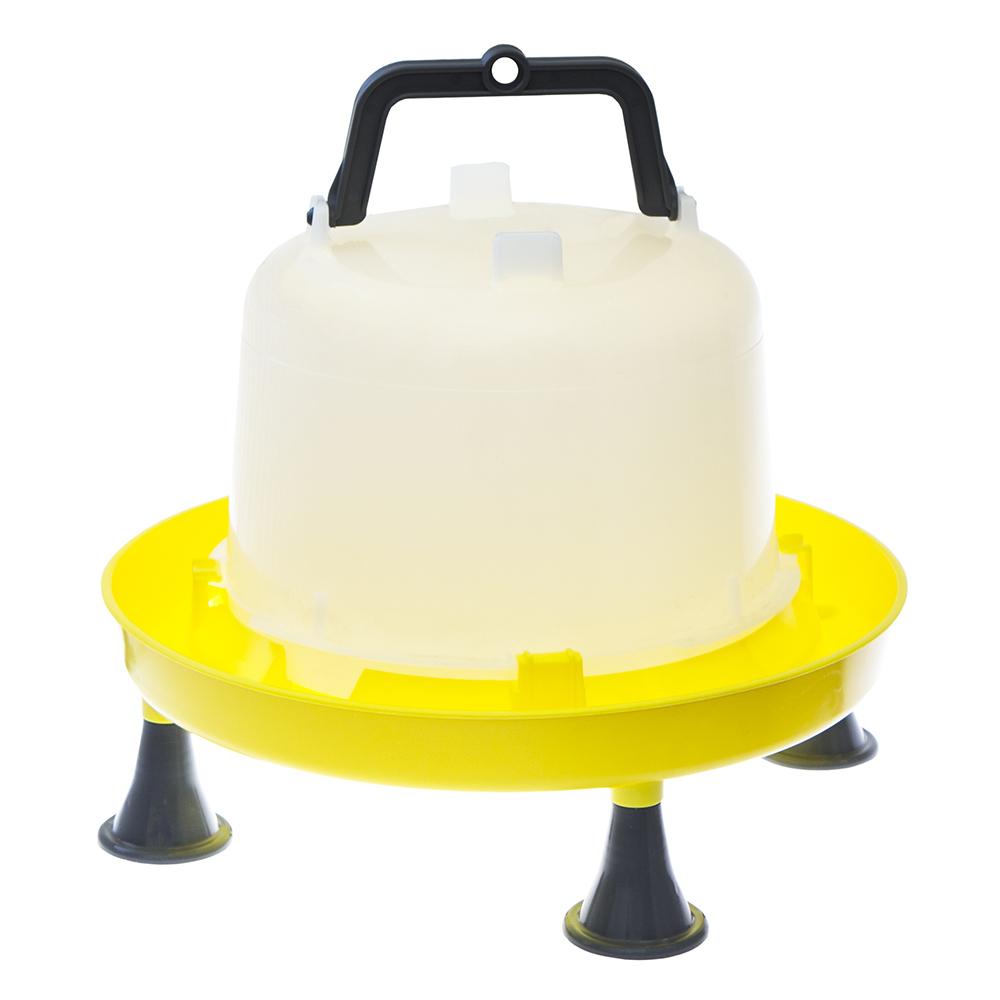 Poidło zbiornikowe dla drobiu 5l z uchwytem i nóżkami - zdjecie 1
