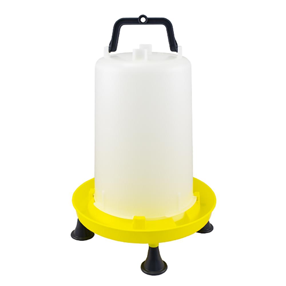 Poidło zbiornikowe dla drobiu 15 litrów z uchwytem i nóżkami - zdjecie 1