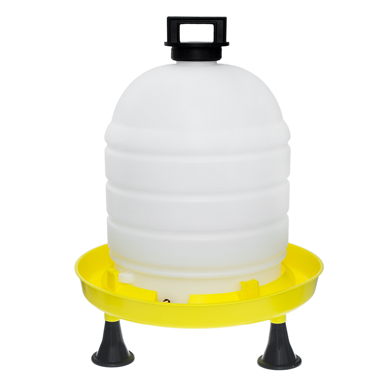 Poidło zbiornikowe automatyczne dla drobiu 15l na nóżkach - zdjecie 1