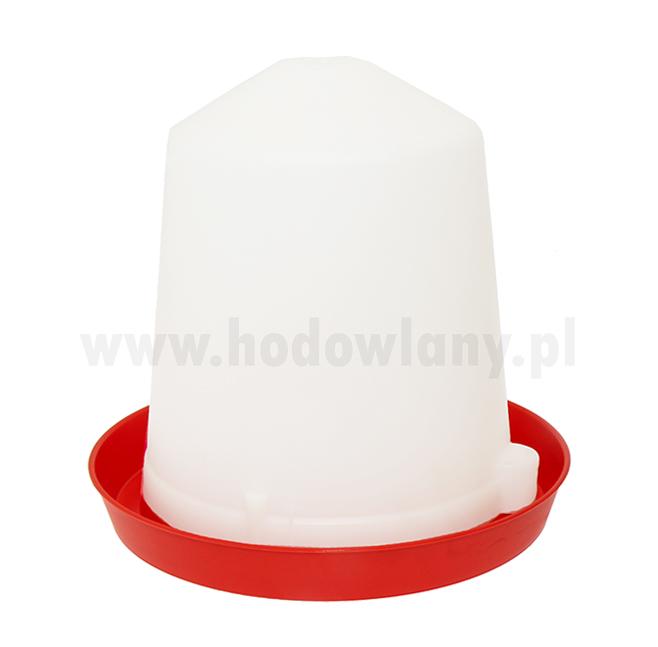 Poidło zbiornikowe syfon 10l plastikowe dla drobiu - zdjecie 1