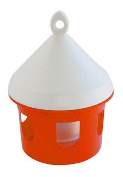 Poidło wiszące zbiornikowe dla gołębi/kurek 3l