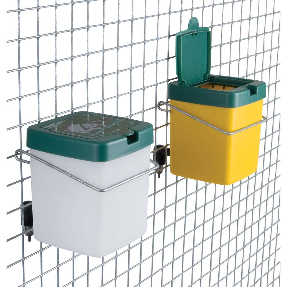 Poidełko dla zwierząt do klatek ze zbiornikiem 0,5 litra ECON - zdjecie 1