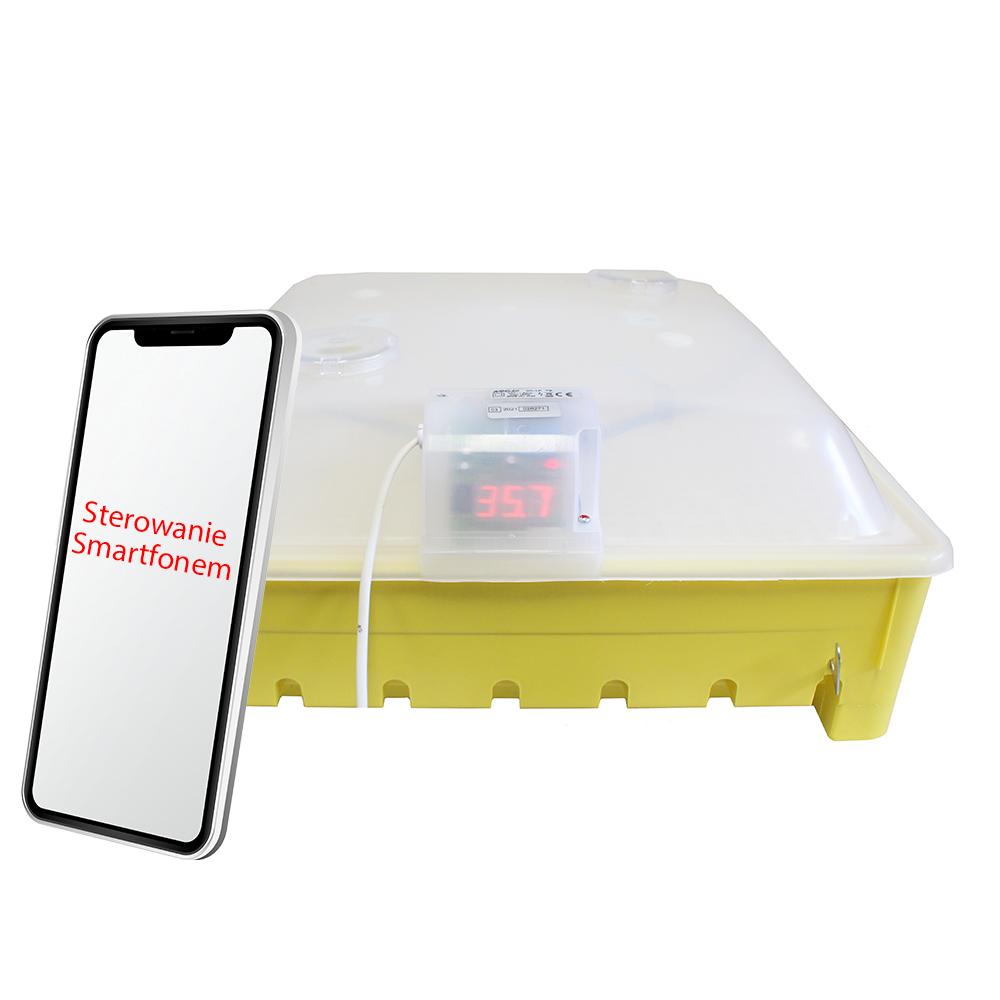 Inkubator domowy do wylęgu jaj pół-automat iKar na 56 jaj - zdjecie 1