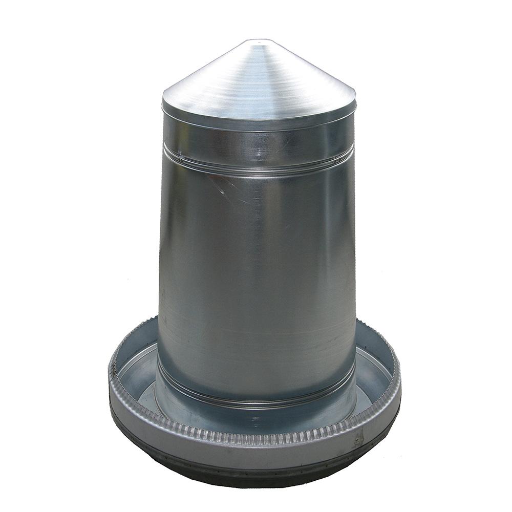 Automat paszowy - karmidło dla gęsi, indyków 70 kg metal ocynkowany - zdjecie 1