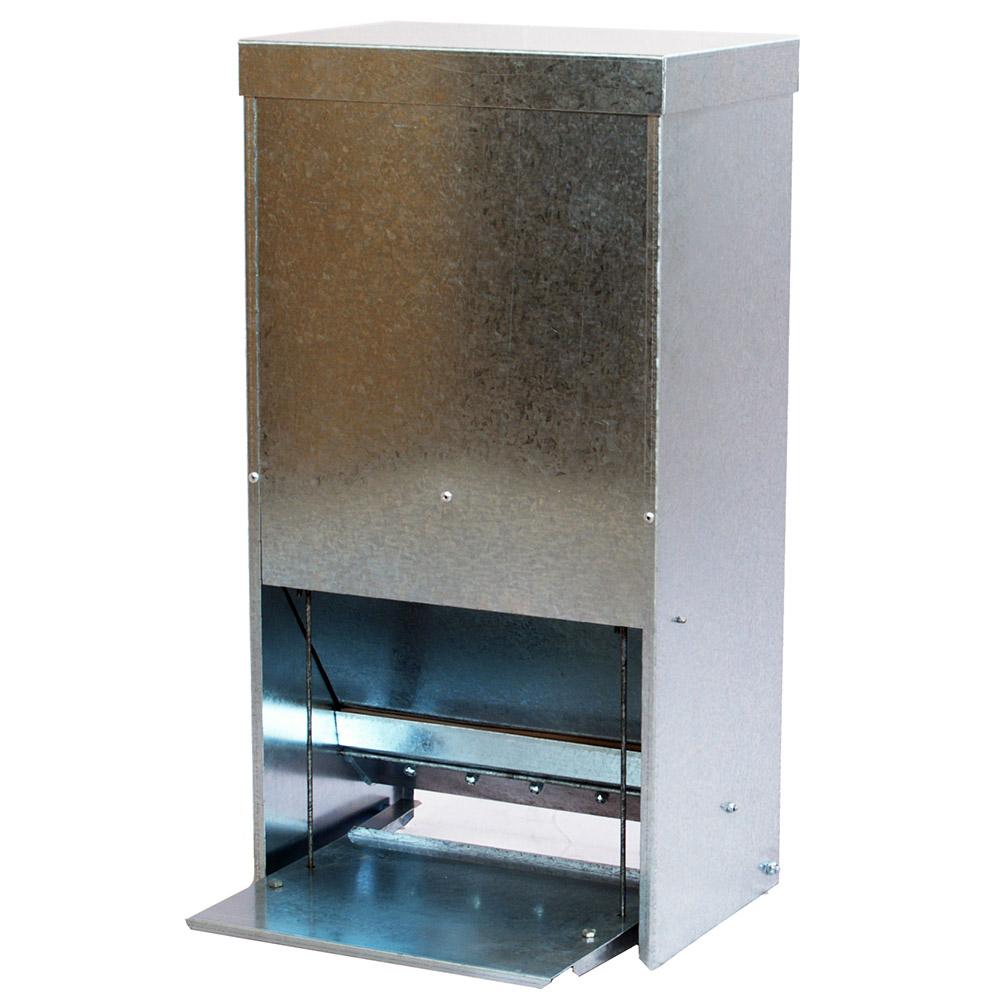 Karmidło zasypowe automatyczne - metalowe 30 litrów