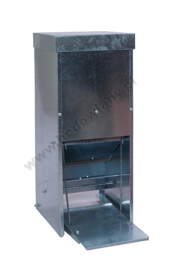 Karmidło automatyczne dla drobiu - metalowe 15 litrów