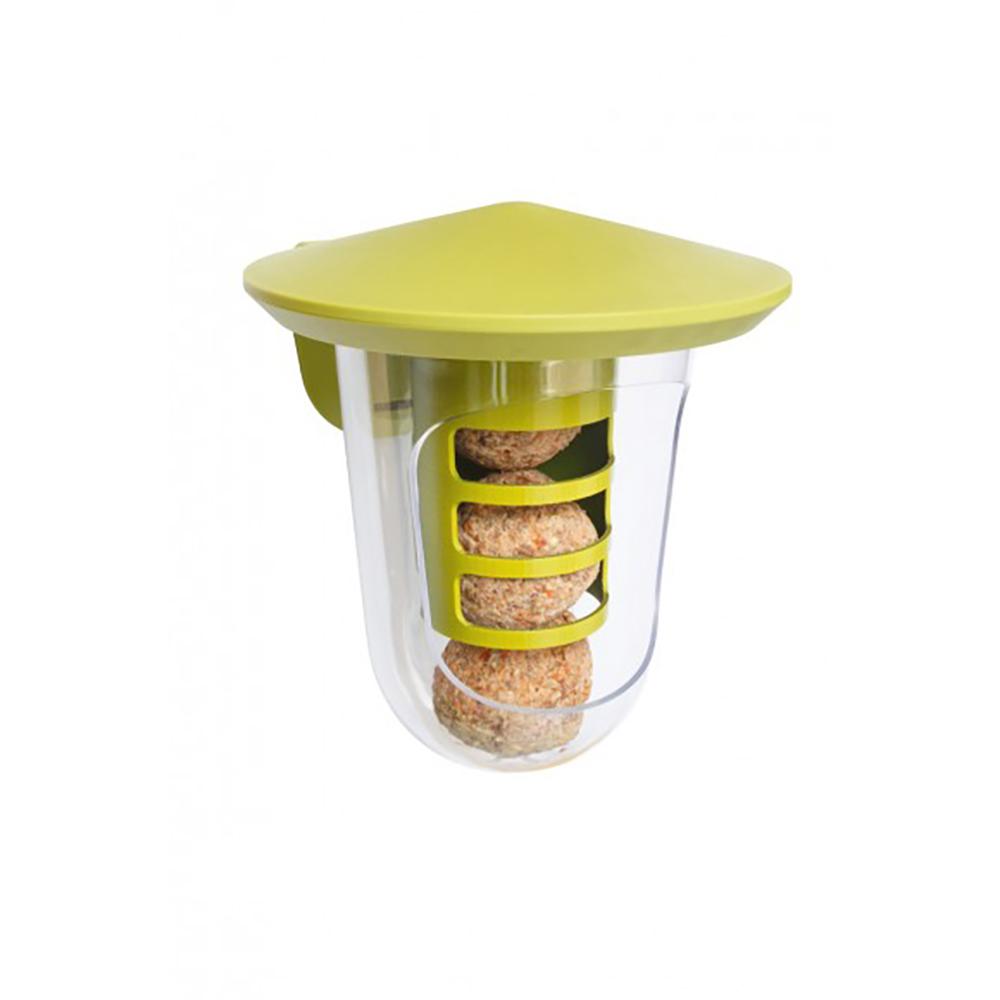 Karmnik dla dzikiego ptactwa Multi feedR z dozownikami montaż na rynnie lub ścianie  - zdjecie 1