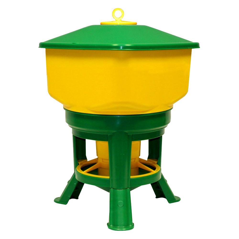 Karmidło zasypowe dla drobiu na stojaku GOLIAT 20 kg   - zdjecie 1