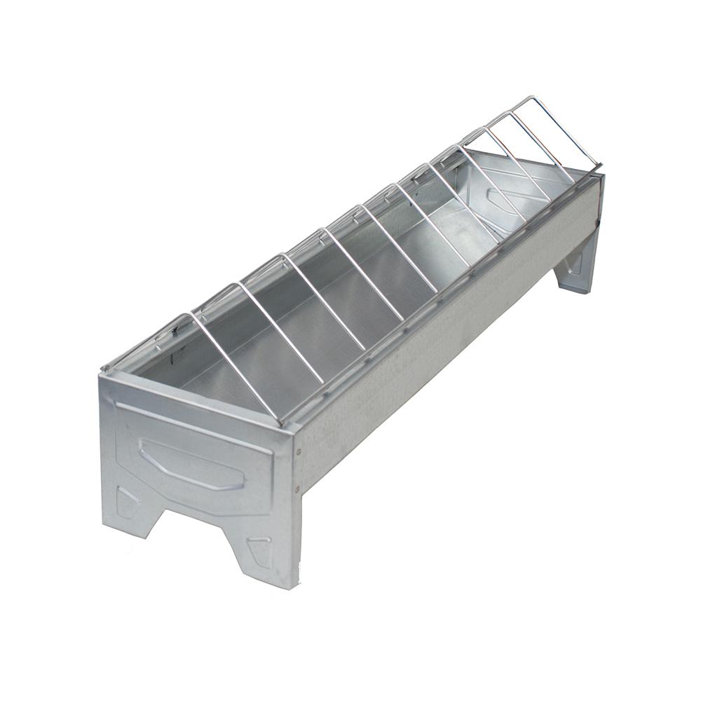 Karmidło korytko dla kurcząt i niosek 50 cm metalowe - zdjecie 1