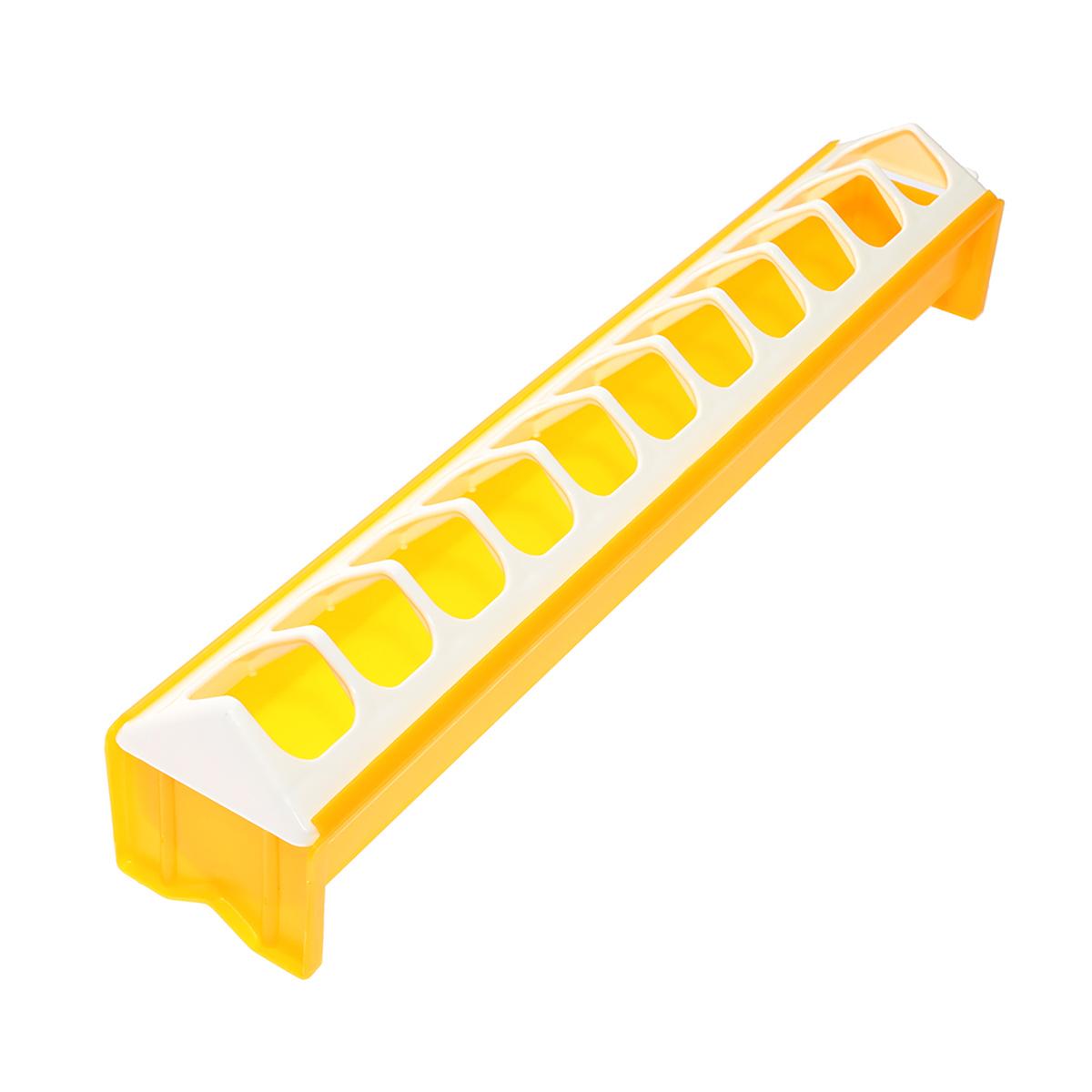 Karmnik podłużny o długości 40cm dla piskląt karmidło