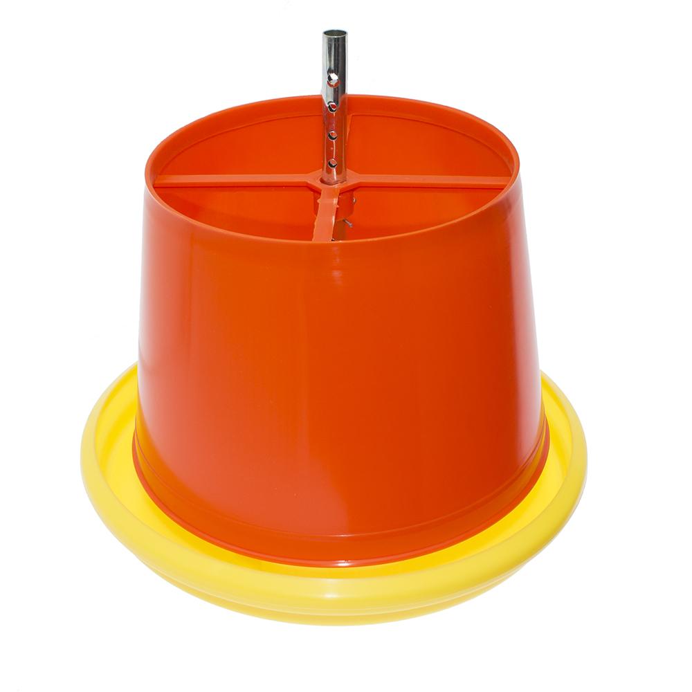 Karmnik z dozownikiem na paszę dla drobiu 12l 5kg