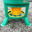 Karmidło zasypowe dla drobiu na stojaku GOLIAT 30 kg - zdjecie 3