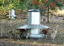 Automat paszowy - karmidło dla drobiu metalowe 40 kg kompletne z regulacją - zdjecie 2