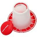 Karmidło, paśnik dla piskląt z zasobnikiem 1kg - zdjecie 2