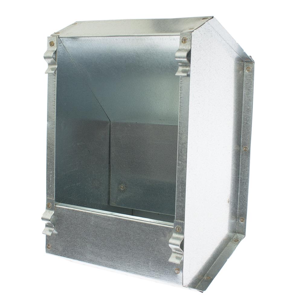 Karmnik dla królików  jednokomorowy metalowy 14 cm ECON