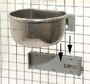 Uchwyt montażowy do mocowania miseczek stalowych na kracie - zdjecie 4