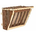 Paśnik drewniany na sianko i zielonkę dla królików - zdjecie 1