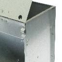 Karmnik dla królików  jednokomorowy metalowy 14 cm z pokrywką ECON - zdjecie 3