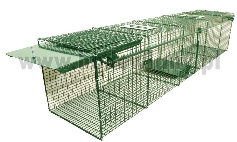 Łapica żywochwytna na wydry, bobry, lisy wzmocniona ProLong+ 150 cm - zdjecie 1