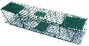 Pułapka żywołowna 2 wejściowa na kuny, koty, lisy, wydry - długa 125 cm