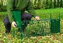 Pułapka żywochwytna dwuwejściowa na lisy, kuny, łasice, wydry - 100 cm - zdjecie 4
