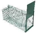 Pułapka żywołowna na szczury, kuny, łasice, tchórze z hakiem na przynętę - 60 cm - zdjecie 1