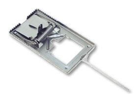 Pułapka zatrzaskowa na myszy duża metalowa
