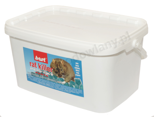 RAT KILLER PERFEKT 2,5 kg trutka na szczury i myszy w paście - zdjecie 1