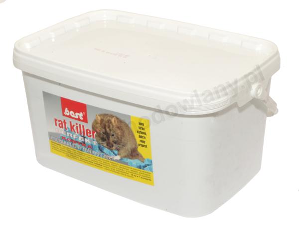 RAT KILLER PERFEKT 2,5 kg preparat na szczury i myszy w kostce