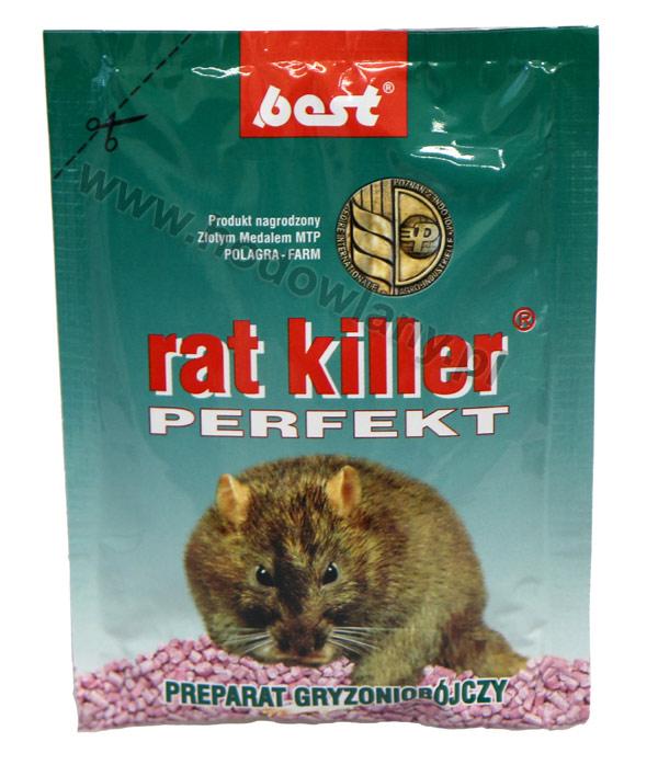RAT KILLER PERFEKT 90 g preparat na szczury i myszy granulat - zdjecie 1