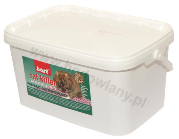 RAT KILLER PERFEKT 3 kg granulat na szczury i myszy - zdjecie 1