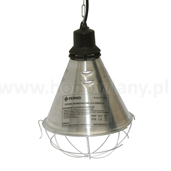 Oprawa, lampa do podgrzewania, reflektor promiennika