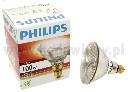 Żarówka promiennikowa PHILIPS 100 WAT biała zbrojona - zdjecie 2