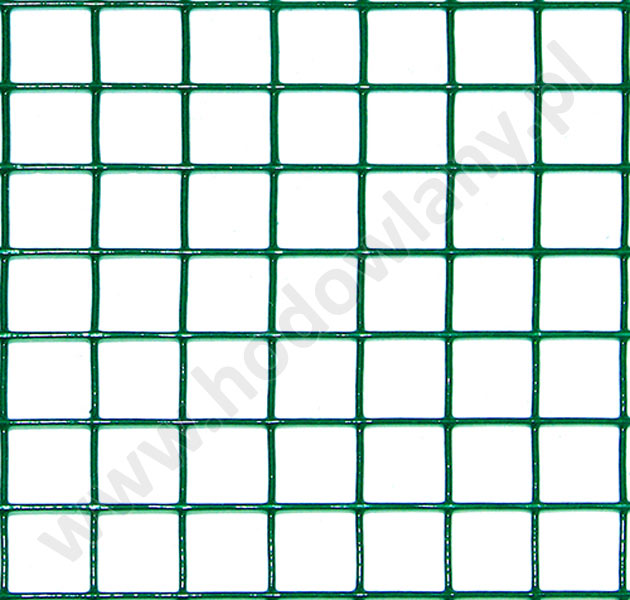 79800559e6cd17 Siatka zgrzwewana zielona powlekana PCV oczko 19x19mm drut 1,4mm do budowy  wolier dla gołębi
