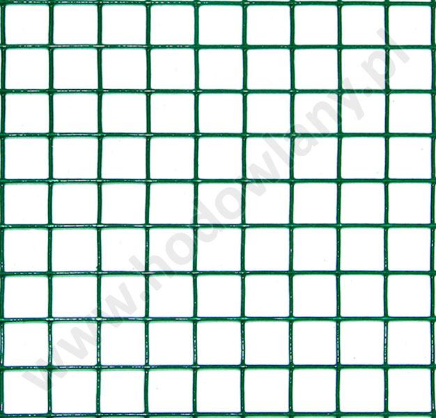 Krata zgrzewana powlekana PCV oczko 16 x 16 drut 1,2 mm w rolce 5 mb - zdjecie 1