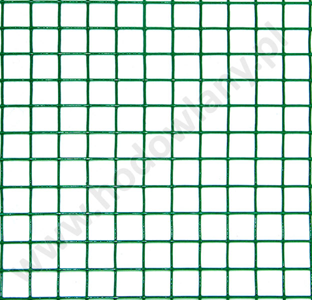 Siatka zgrzewana w otulinie oczko 13 x 13 mm drut 1,2 mm - powlekana 5 mb - zdjecie 1