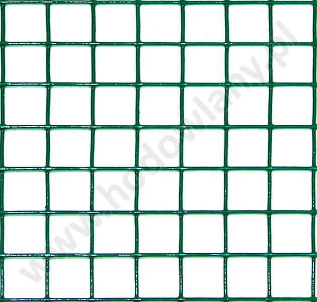 Siatka zgrzewana powlekana oczko 19 x 19 mm drut 1,4 mm rolka 5 mb - zdjecie 1