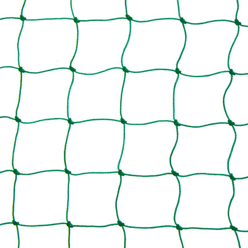 Siatka polietylenowa na pokrycia wierzchnie wolier oczko 4 x 4 cm na wymiar - zielona - zdjecie 1