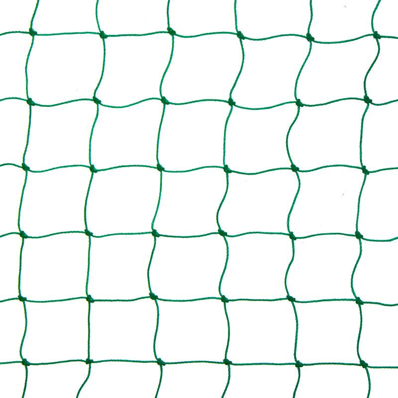 Siatka polietylenowa na pokrycia wierzchnie wolier  oczko 2,5 x 2,5 cm na wymiar - zielona - zdjecie 1