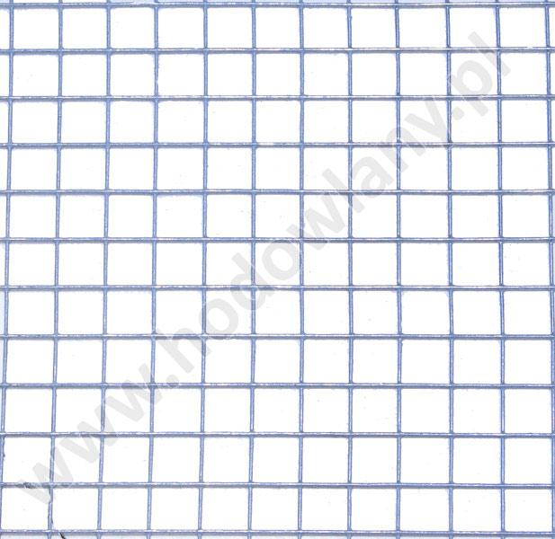Siatka zgrzewana ocynkowana 13x13 mm na woliery gruby drut - zdjecie 1
