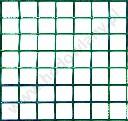 Siatka zgrzwewana zielona powlekana PCV oczko 19x19mm drut 1,4mm do budowy wolier dla gołębi i innych ptaków